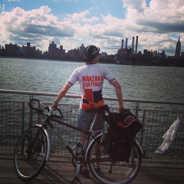 Julian Rojas- 26 Year Old Rides Bike 2913 Miles