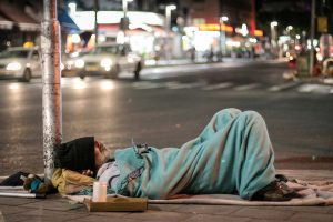 Aboriginal Drunk Beggar