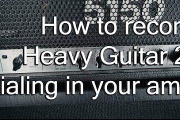 How to record heavy guitar: Glenn Fricker