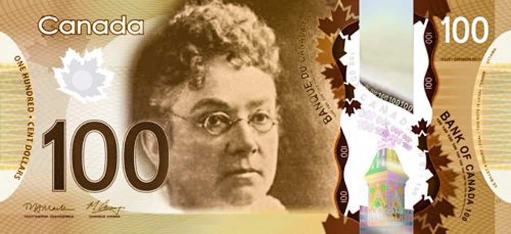 2_Canadian Women On Bank Notes