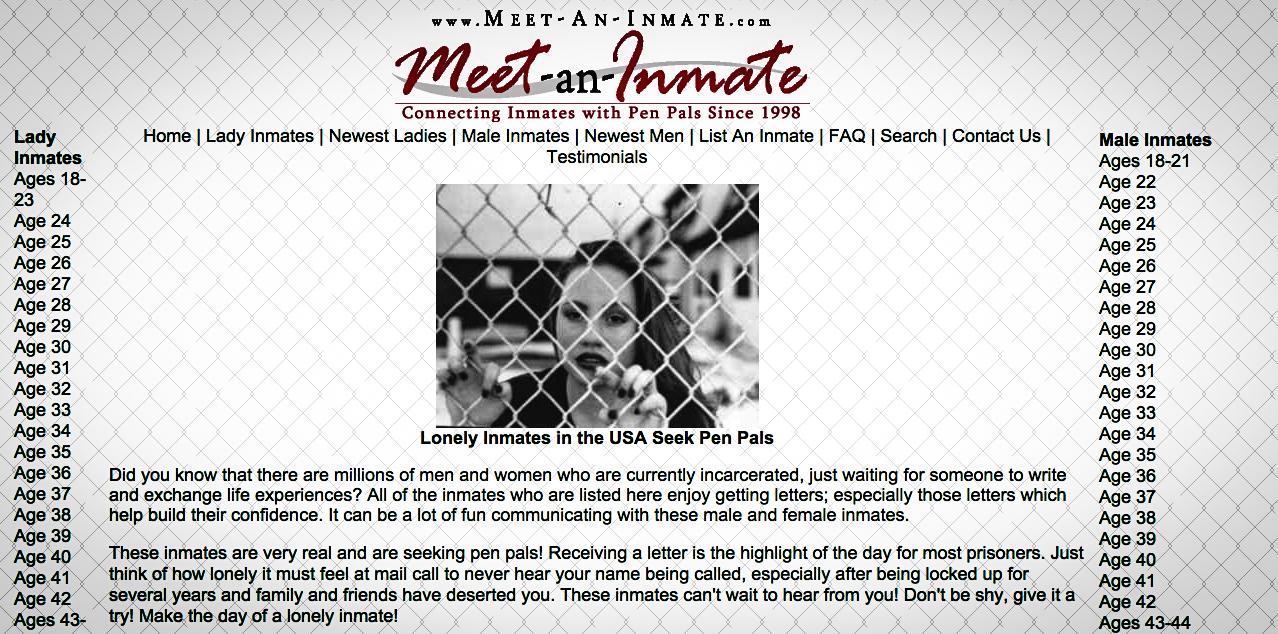 meet an inmate prison