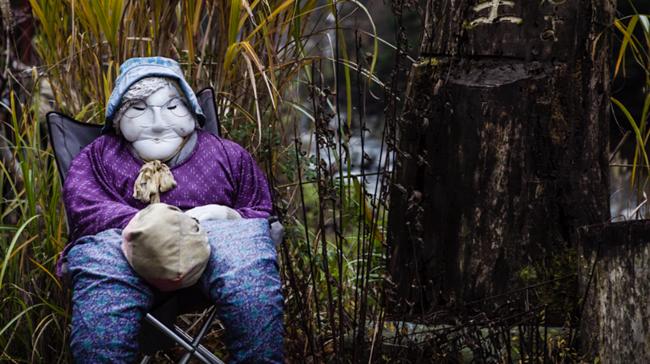 4_Japanese scarecrow town