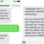 This video game lets you practice your sexting skills on a robot