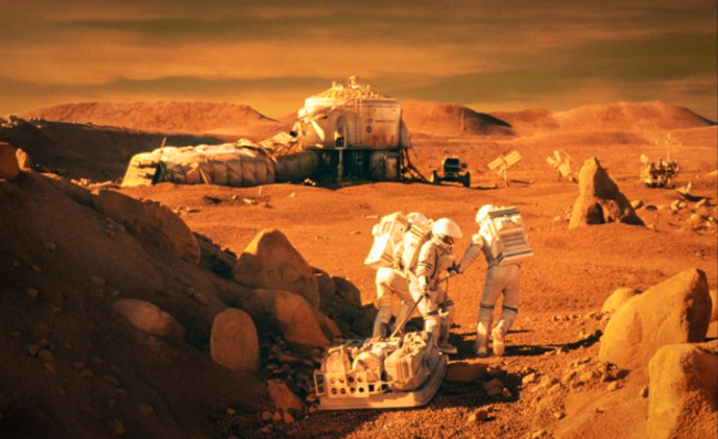 first manned mission to Mars_Alternative news