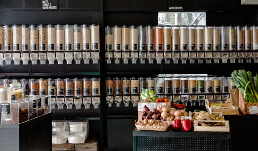 This zero waste grocery store has no packaging plastic or for Cuisine store