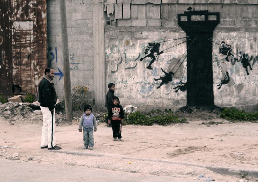 Banksy Gaza Strip4 (4)