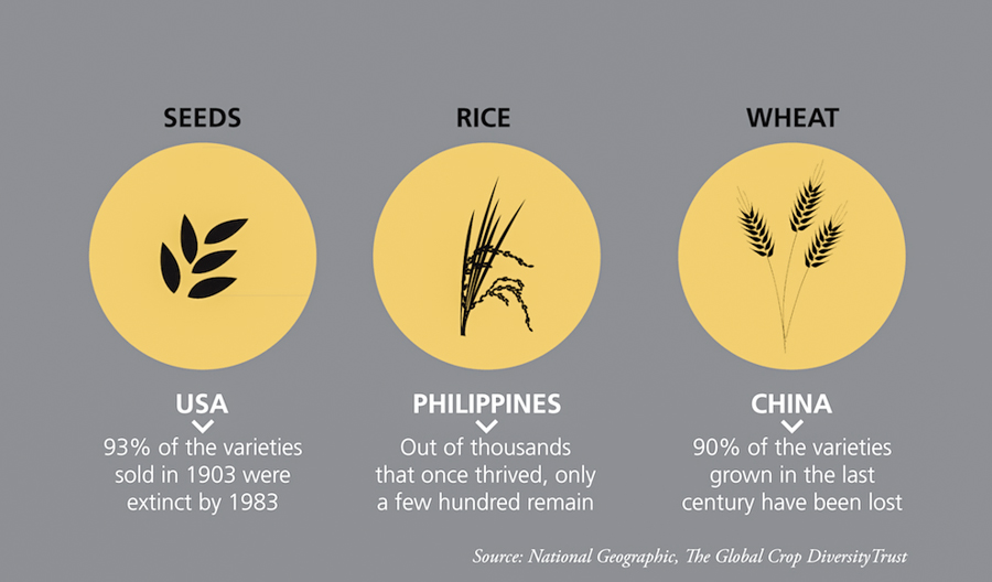 2_food crops are becoming extinct