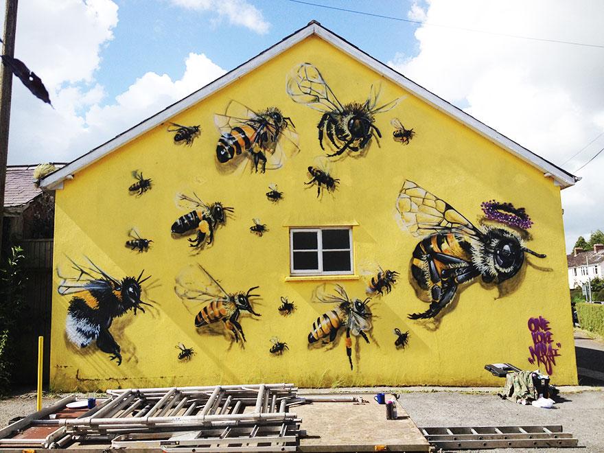 1_Honey Bee Graffiti