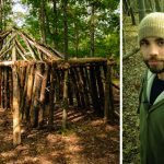 This college student saved $8,000 a year by building his own dorm in the woods