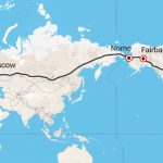 A potential bridge between Russia and Alaska could lead to the ultimate road trip