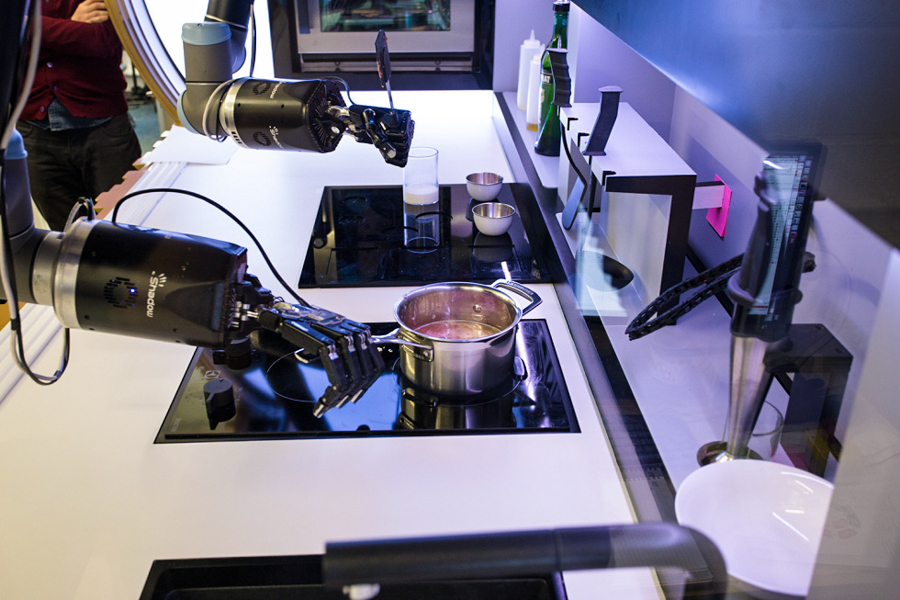 In 2017 You Can Buy A Robot Chef That Will Mimic The