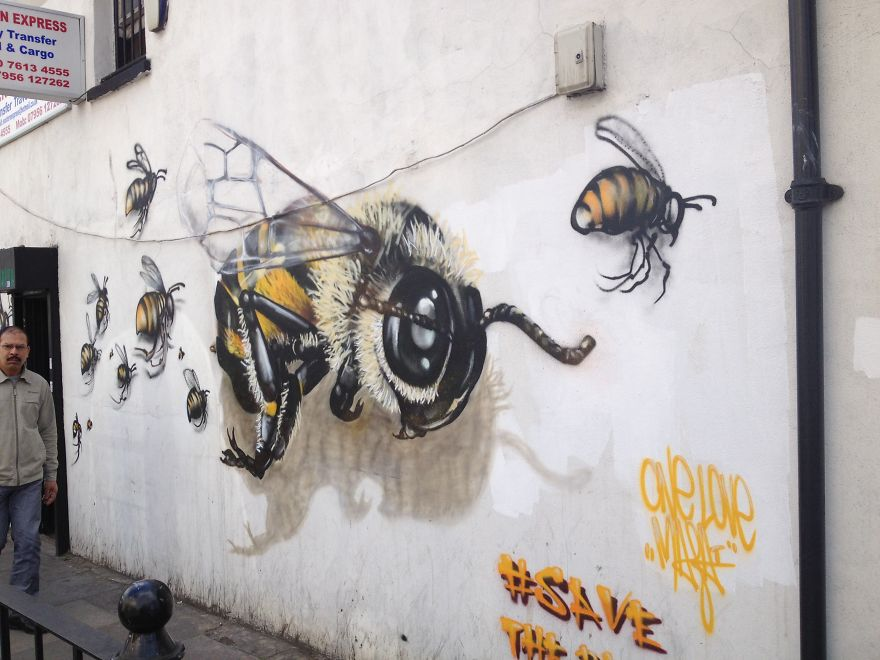 7_Honey Bee Graffiti
