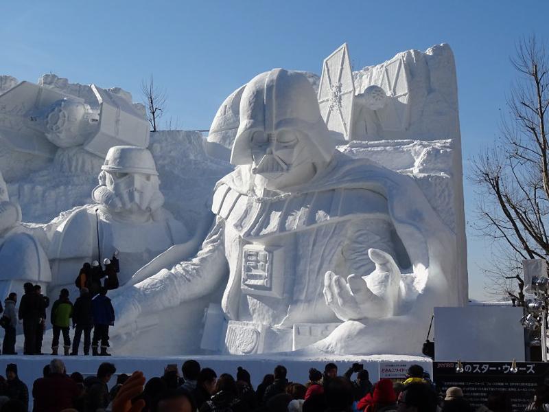 10_Sapporo Snow Festival (Japan)