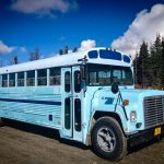 This family of 8 gave up consumerism to live together in a traveling school bus