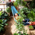 The DIY greenhouse of the future offers a year-round private oasis