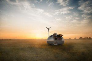 1_Solar powered Ecocapsule