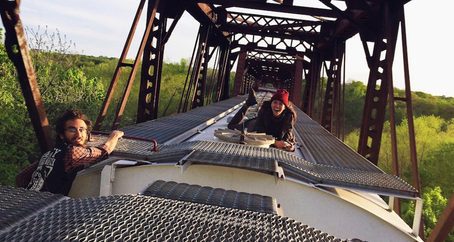 1_Train Hopping Molly Steele