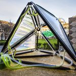New urban algae canopy produces as much oxygen as four hectares of woodland
