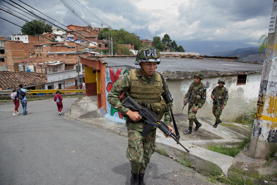 Violence Medellin Colombia
