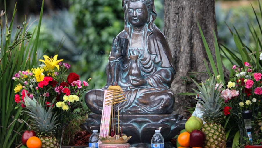 4_Buddha statue eradicate crime