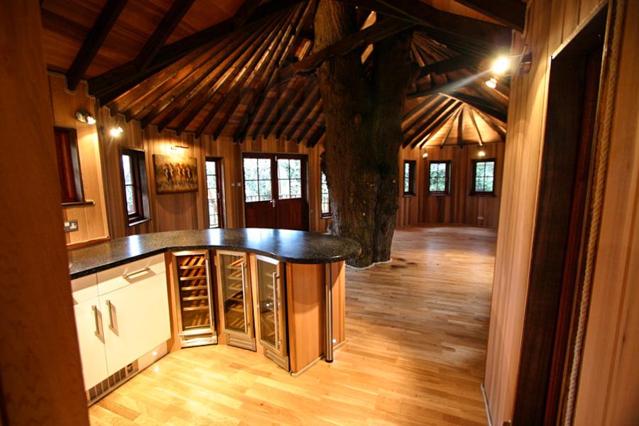Living Room 8 Modern Treehouse