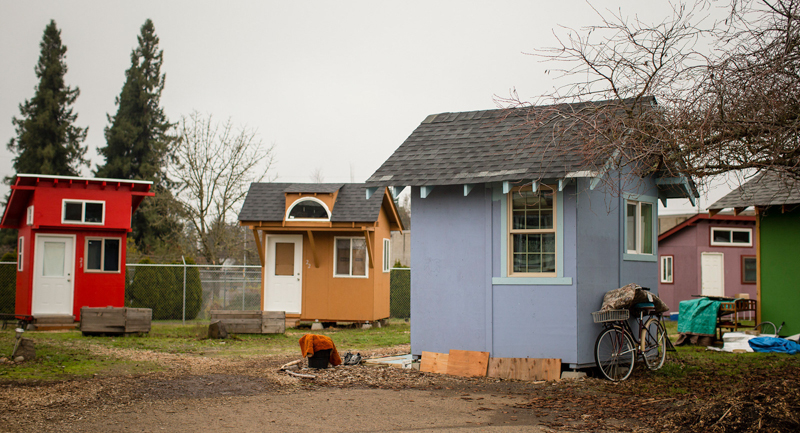 This city is using tiny house villages to fight homelessness for Pacific northwest homes