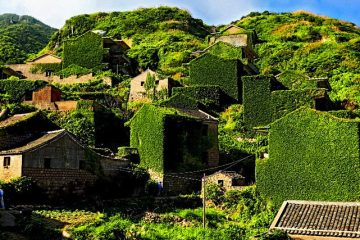 1_abandoned fishing village in China