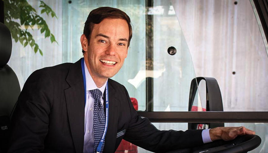 CEO Ryan Popple of Proterra