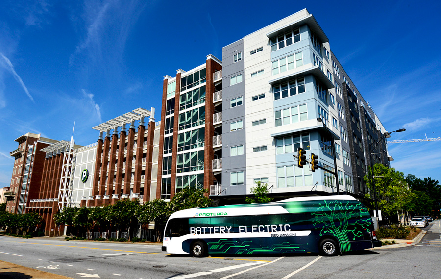 5_Proterra Electric Bus