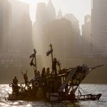 These Dumpster Diving Artists built floating sculptures and sailed them from Slovenia to Venice