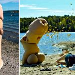 Norway is getting a man in a penis suit to fake ejaculate on people for sexual health