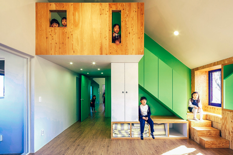 South korean architects turned this abandoned mansion into for Tiny house mansion