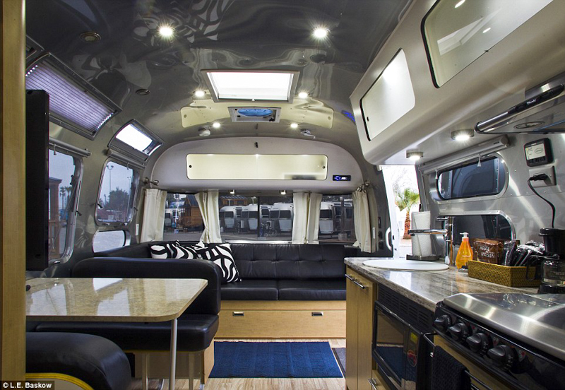 This millionaire ceo lives in a 240 square foot trailer for Minimalist living in an rv