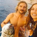 This Australian couple ditched society to permanently circle paradise in a sail-boat