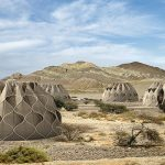 These amazing tents can collect water, fold up and harvest energy from the sun