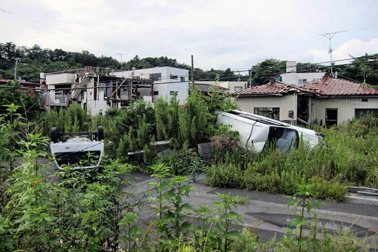 1_invisible art gallery in radioactive Fukushima