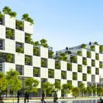 This university is creating a forested campus to give students a green-oasis in the city