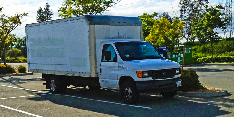 23 year old saves 2 000 month living in a decked out van in google 39 s company parking lot. Black Bedroom Furniture Sets. Home Design Ideas