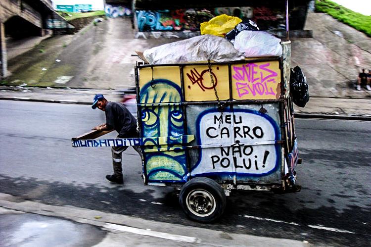9_trash carts into art