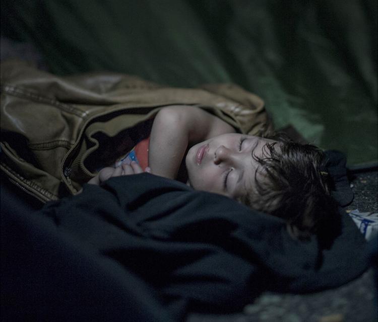 10_Where child refugees Sleep