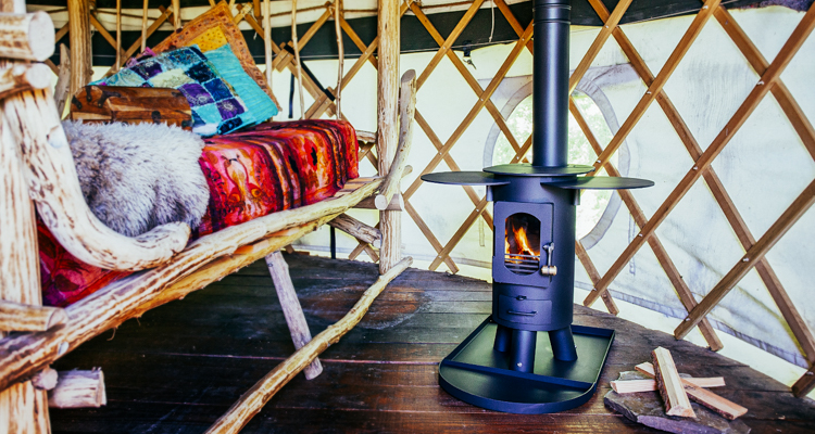 Portable wood-stove collapses small enough to fit in your backpack to heat  tents, vans and tiny homes - Portable Wood-stove Collapses Small Enough To Fit In Your Backpack