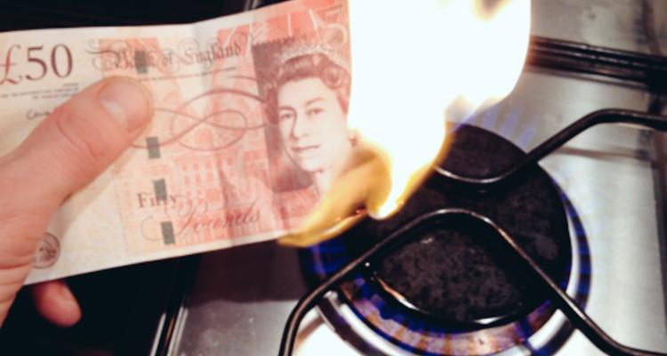 1_burning his student loan