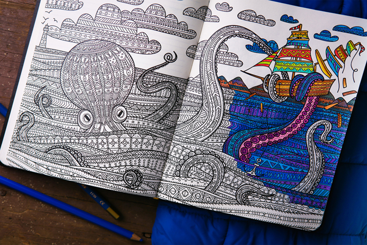 3_adult colouring books