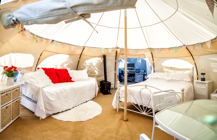4_Lotus Belle tent & The Lotus Belle tent will let you escape the rent trap for forest ...