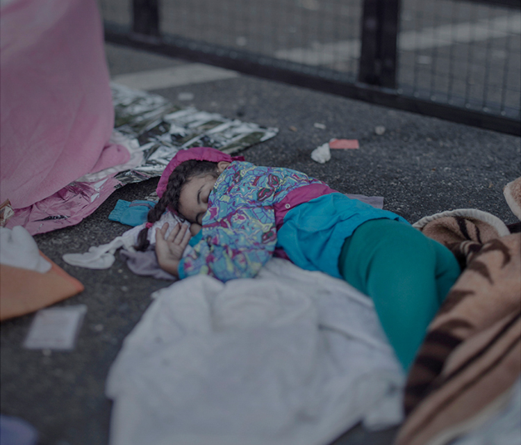 8_Where child refugees Sleep