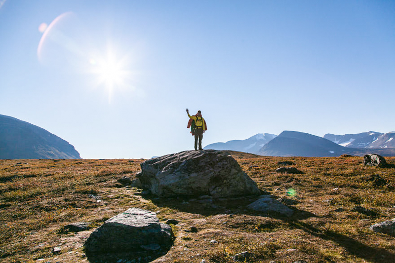 8_hike in Northern Sweden photos