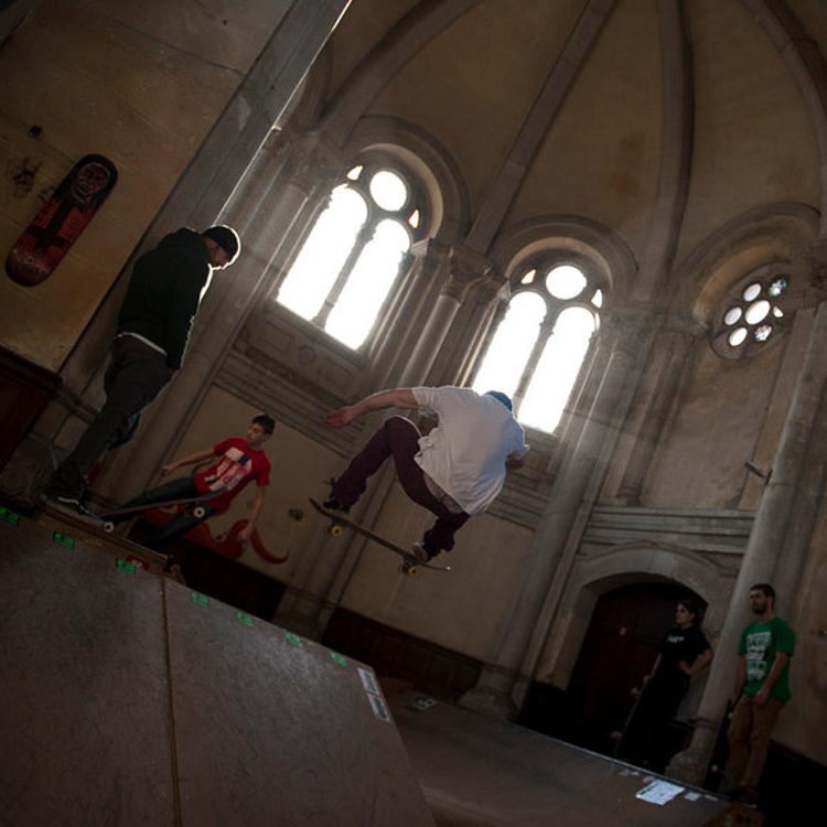 4_100-year-old church skate park