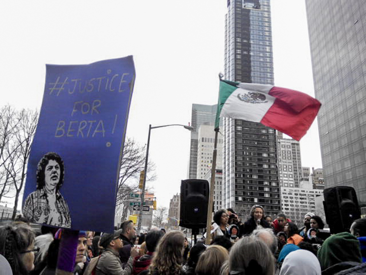 2_Hundreds rally to demand justice for Berta Cáceres