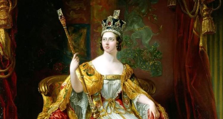 1_Queen Victoria a borderline nymphomaniac