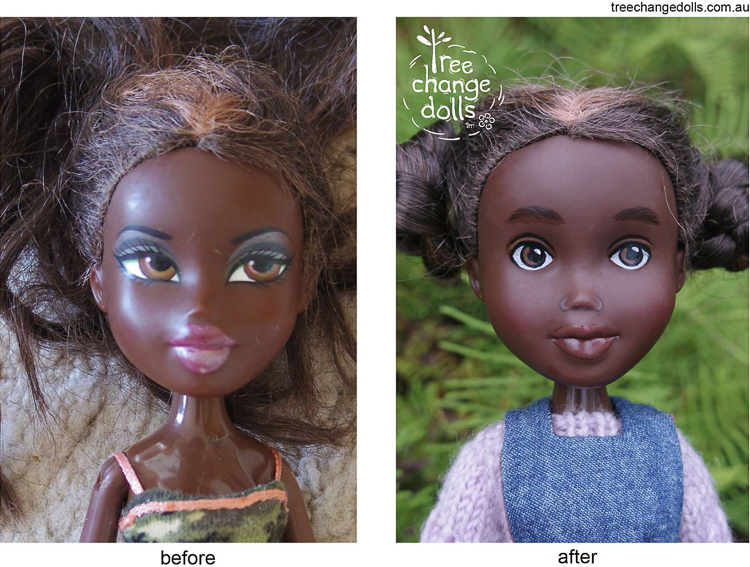 Tree Change Dolls Face Painting